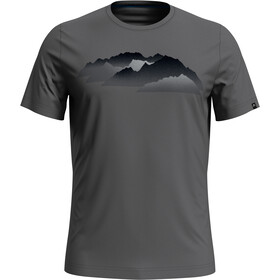 Odlo Nikko Print T-shirt Herrer, odlo steel grey/mountain